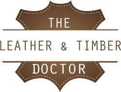 the leather and timber doctor logo transparent